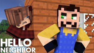 Minecraft Hello Neighbor - What's In The Shed? (Minecraft Roleplay)
