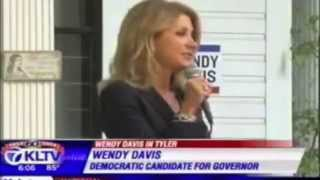 Wendy Davis in Tyler and Longview for Weekend of Action