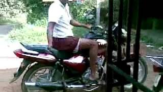 Funny Bike Stunt Accident In India .....Really Funny !!