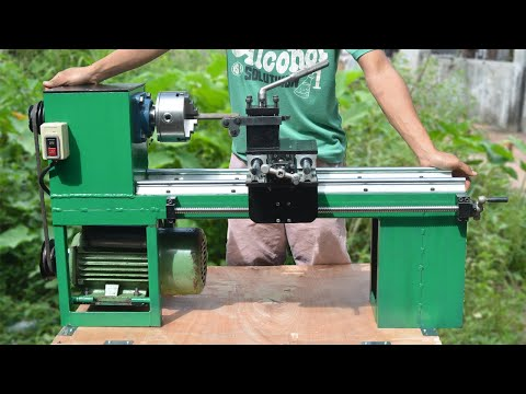 Homemade Lathe Machine from YouTube · Duration:  25 minutes 31 seconds