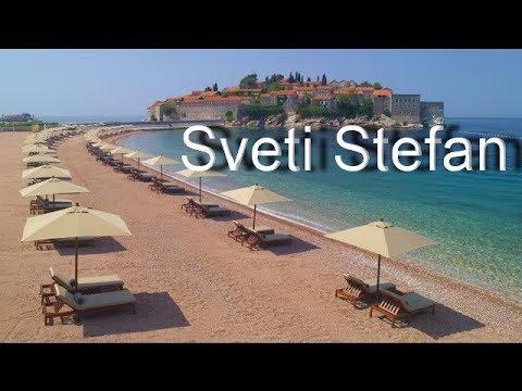 Crna Gora Sveti Stefan Dragulj CG Primorja - Crna Gora Montenegro Promo HD
