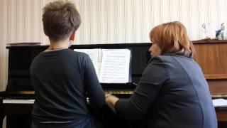 Подсмотрено на уроке музыки(Наш старший сын обучается игре на фортепиано третий год. Бывают моменты, когда у него появляется очень силь..., 2016-03-27T13:15:47.000Z)