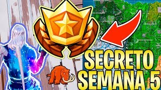 Où trouver le secret STAR OU SECRET BANNER WEEK 5-SEASON 7-Fortnite