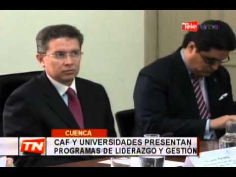 CAF y Universidades presentan programas de liderazgo y gestión