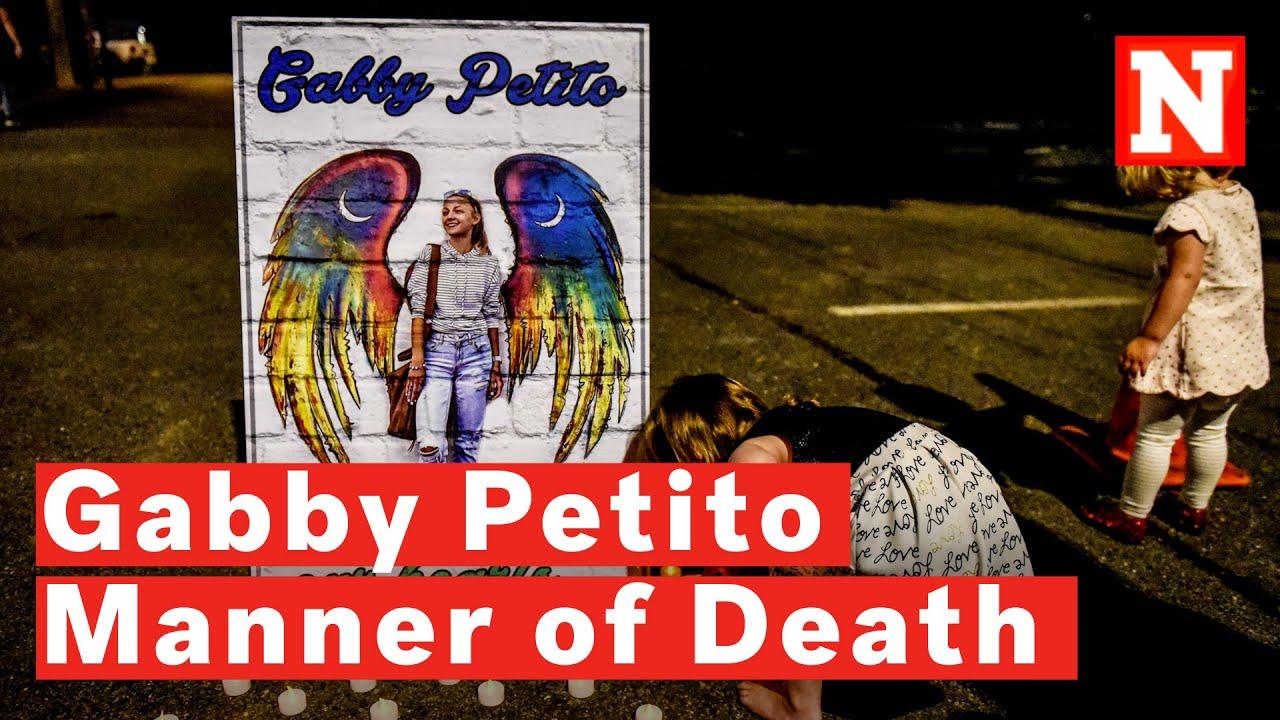 Gabby Petito: US blogger was strangled to death - coroner