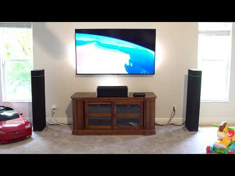Definitive Technology  BP9040 sound Test