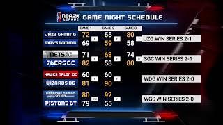 NBA 2K League Season 3 Week 10 | Day 1