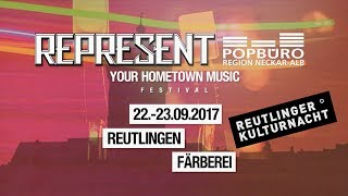 REPRESENT-TV | Reutlinger Kulturnacht | Färberei | Trailer 2017