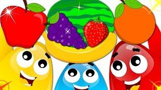 Fruits and Vegetables | Surprise Eggs Cruze | Nursery Rhymes by Kids Tv