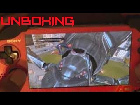 NTV Unboxing/Gamplay - The Amazing Spider-Man - [Vita] - 11.19.13