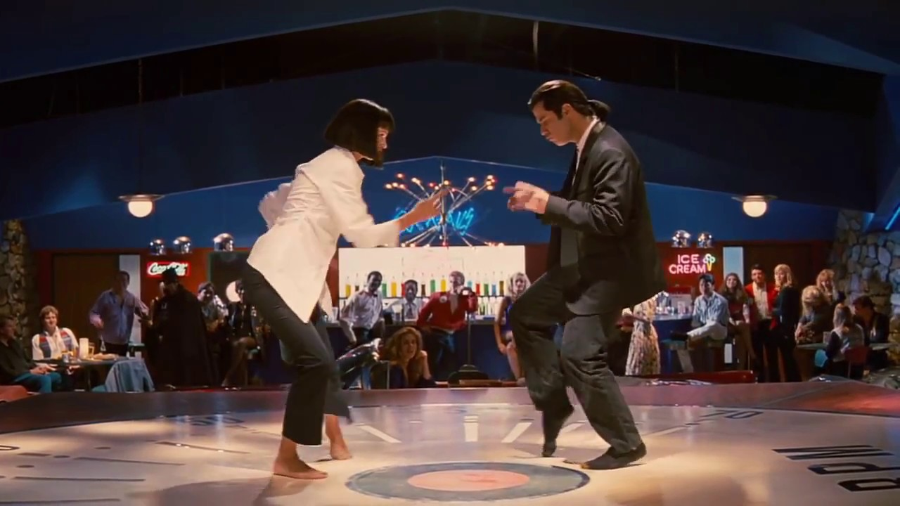 Image result for Vincent Vega and Mia Wallace
