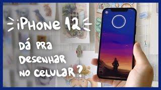 iPhone12 - é possível desenhar e pintar no celular? | Rodrigo Falco