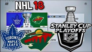 2018 NHL PLAYOFFS SIMULATION IN NHL 18
