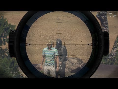 NAVY SEALS SNIPER KILLS ISIS HOSTAGE TAKER (700 M HEADSHOT) IN ARMA 3