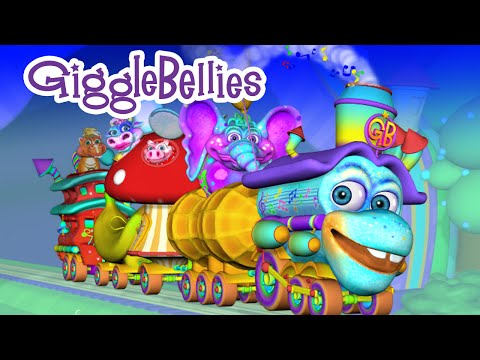 I've Been Working On The Railroad | Nursery Rhymes | GiggleBellies