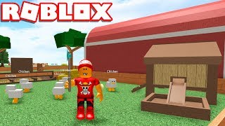 Roblox → BUILDING MY FARM in the SKY!! -Roblox Skyblock 2 🎮