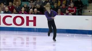 Kevin Reynolds  SP Canadian Nationals 2012