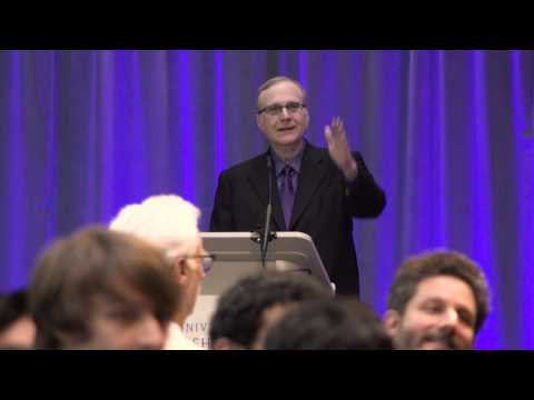 Paul Allen speaks at the University of Washington Computer Science & Engineering 50th Anniversary