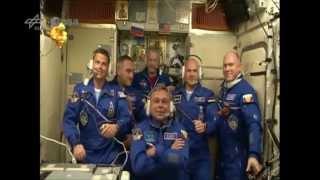 Alexander Gerst - die Verbindungstür zur ISS öffnet sich