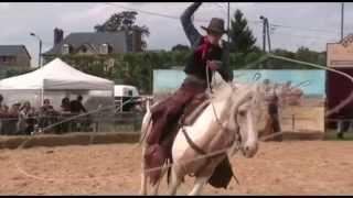 Clip spectacles équestres western
