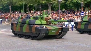 French Ministry Of Defense - Bastille Day Parade 2016 : Full Army Segment [720p]