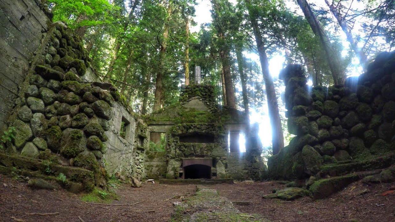 Climbing Exploring Abandoned Stone House