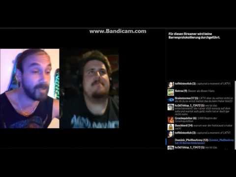 Drachenlord bei LXTV über Mulumbi, Abc Def & Schlägereien / YouNow