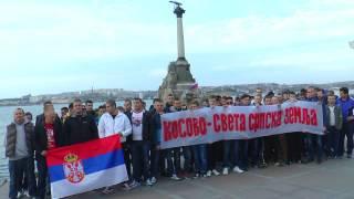 Rusi sa Sevastopolja u Rusiji pevaju
