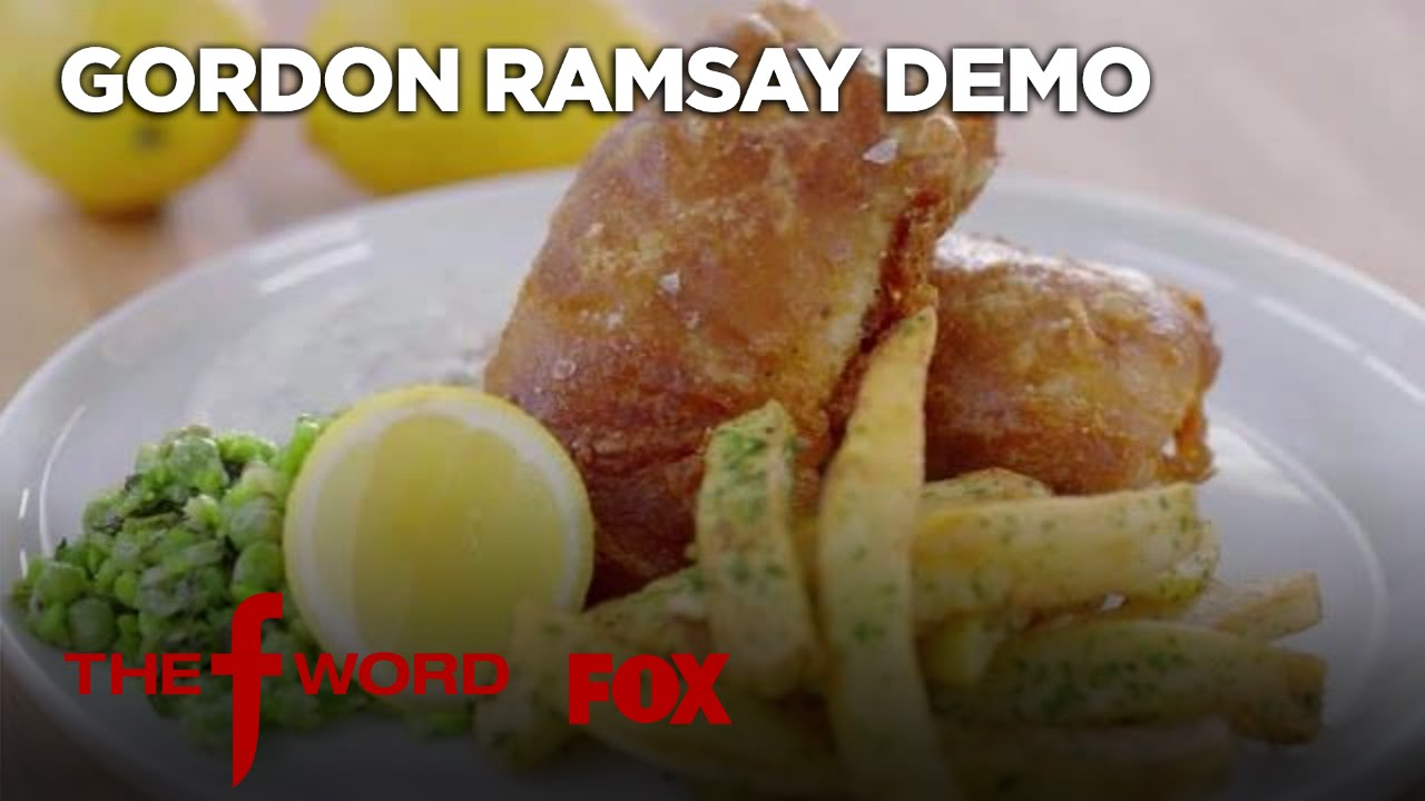 Download Gordon Ramsay Demonstrates How To Make The Perfect Fish & Chips | Season 1 Ep. 6 | THE F WORD