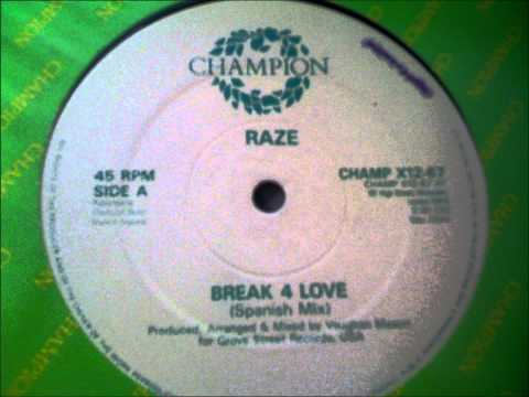 Raze, Break 4 Love (Spanish Mix) - 1987