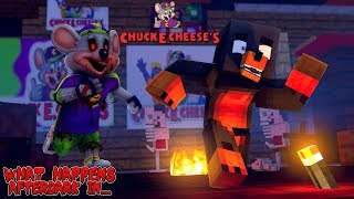 Minecraft WHAT HAPPENS AFTERDARK IN....CHUCK E CHEESE'S