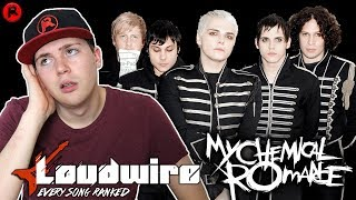 THEY RANKED EVERY MY CHEMICAL ROMANCE SONG (REACTION)