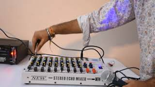 MEDHA 9 CHANNEL MIXER UNBOXING AND FULL TESTING