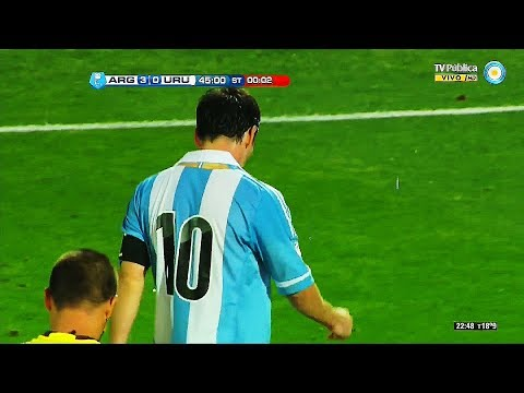 One of Lionel Messi's Best Performances with Argentina ||HD||