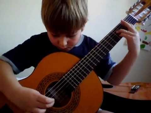 B.O. du Film Jeux Interdits : Romance / enfant guitare 6 ans