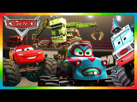 cars deutsch monster hook truck movie lightning. Black Bedroom Furniture Sets. Home Design Ideas