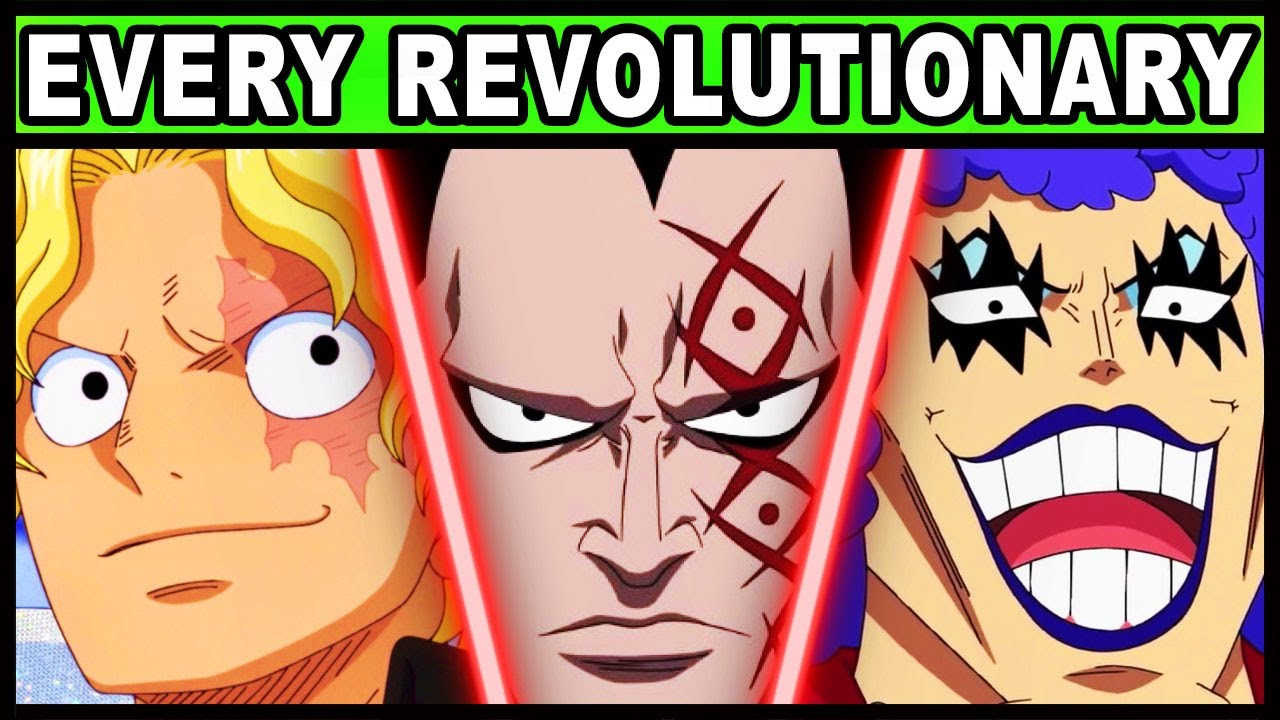 Monkey D. Dragon and his Commanders Explained! (One Piece Every Revolutionary and Their Powers)