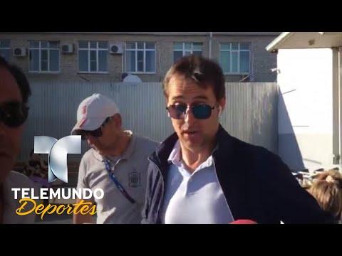 Julen Lopetegui da la cara al ser despedido en España   Copa Mundial FIFA Rusia 2018   Telemundo