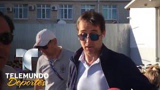 Julen Lopetegui da la cara al ser despedido en España | Copa Mundial FIFA Rusia 2018 | Telemundo