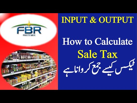 HOW TO CALCULATE SALE TAX