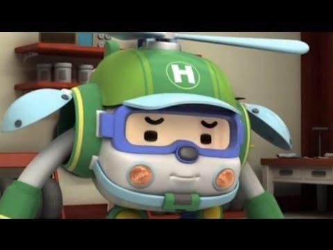 Робокар Поли - Трансформеры - Будьте здоровы! (мультфильм 52)