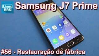 Samsung Galaxy J7 Prime - Restauração de fábrica (formatando) thumbnail