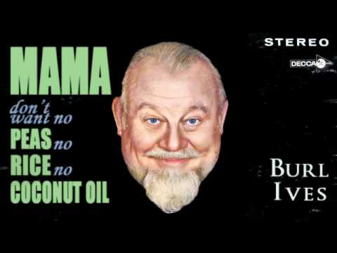 burl ives - go tell aunt rhody lyrics