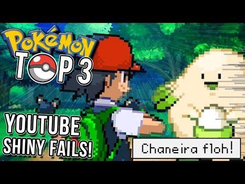 Top 3 der Shiny Pokemon Fails!