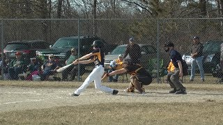 Alconas Hitting Pushes Them Past Au Gres -Sims