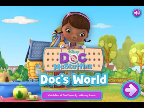 Doc Mcstuffins Doc S Worlds Disney Junior Online Games