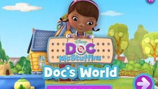 Doc Mcstuffins Doc's Worlds Disney Junior Online Games Video Gameplay