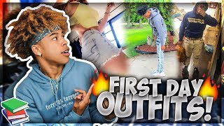 Reacting To My Subscribers FIRST DAY OF SCHOOL FITS!!👀🔥 *HILARIOUS*😂