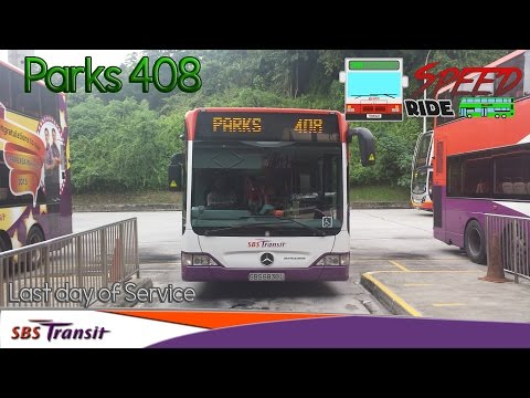 SBST Parks Service 408 (Withdrawn) | Speed Ride #3 - YouTube