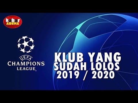 Daftar Klub Yang Lolos Ke Babak Grup Liga Champions Eropa 2019/2020